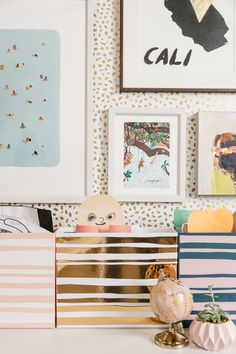 Easy Kid Organization DIY Ideas: Art Cubby #organization #organized #home #homedecor #kidsbedroom