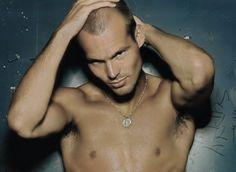 Freddie Ljungberg (@Calvin Klein Ad)