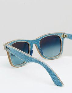 Imagen 4 de Gafas de sol con montura cuadrada de Ray Ban