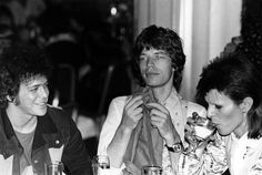 Iconic photos of the late rocker hanging with Jagger, Bowie, Pop, and Warhol, taken by photographer Mick Rock.