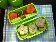El Lunch de mi Enano: De osos y ranas!