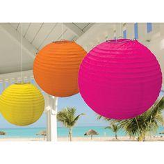 Hanging Lanterns - Warm Colors