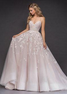 Courtesy of Hayley Paige Wedding Dresses; www.jlmcouture.com/hayley-paige; Wedding dress idea. #weddingideas