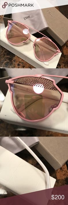 Dior sunglasses Limited edition 💕 Dior sunglasses like new , use once, Italy . Dior Accessories Sunglasses
