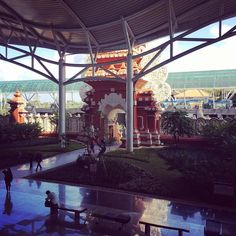 Entrance to #Bali #airport international terminal #travel #reviewsbycouple