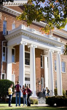 Anderson University, SC - Merritt Administration Building