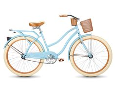 "26"" Nel Lusso™ Women's Cruiser Bike. Riding a cruiser is about feeling awesome. It's that simple. Huffy cruisers are packed with comfort features to keep you going. We want you to enjoy the fun. Model Number: 56573P7 Color: Light Blue Recommended Age: 13 - Adult"