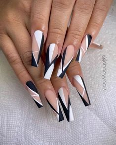 Cute Acrylic Nail Designs, Fall Nail Designs, Simple Nail Art Designs, Summer Acrylic Nails, Best Acrylic Nails, Gorgeous Nails, Pretty Nails, Acylic Nails, Nagellack Design