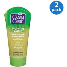 Walmart: Clean & Clear  Morning Burst  Shine Control Facial Scrub Cleansers 5 oz (Pack of 2)  $10.54