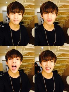 Taehyung | I have finally understood that R1C2 is a heart mouth. Gosh, Tae ... lol