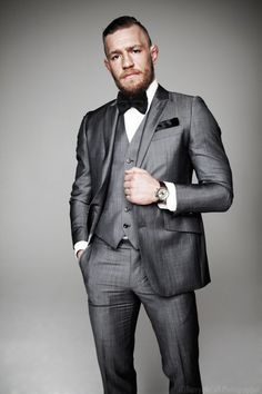 proud Irish fighter: Conor McGregor in expensive suit : Shop at CageCult for powerful #MMA fashion for #MixedMartialArts fighters and fight fans: http://cagecult.com/mma
