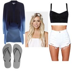 Untitled #20 by richa-thakkar on Polyvore featuring polyvore fashion style Diane Von Furstenberg Dolce&Gabbana O2 Denim Havaianas With Love From CA