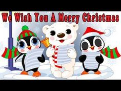 Christmas Songs for Children with lyrics - We Wish You a Merry Christmas - by The Learning Station