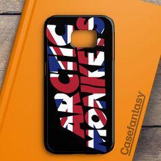 Arctic Monkeys Black And White Samsung Galaxy S6 Edge Case   casefantasy