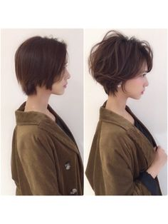 60 Classy Short Haircuts and Hairstyles for Thick Hair Haircuts For Wavy Hair, Haircut For Thick Hair, Cut My Hair, Straight Hairstyles, Short Cropped Hair, Short Straight Hair, Short Hair Cuts, Short Hair Syles, Curly Hair Styles
