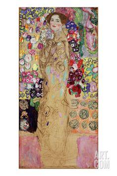 Portrait of a Lady, 1917-18 Giclee Print by Gustav Klimt at Art.com