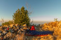 Sleeping quarters with #deuter @Chad Cribbins Prevost Kanteen @optimusstoves #bigsur #camping #outdoors