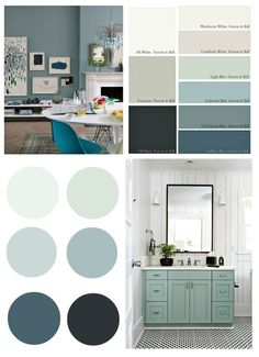 2017 Paint Color Forecasts and Trends | Space painting, Spaces and ...