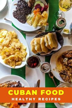 Traditional Cuban food is not only delicious but much of it is healthy too! Here are some easy Cuban recipes that are full in flavour like ropa vieja, picadillo, cuban flan, cuban rice, Cuban chicken fricassee, bistec encebollado,Bistec de palomilla, arroz con pollo, Cuban black bean and more #Cuba #Cubanfood Cuban Flan Recipe, Cuban Recipes, Healthy Recipes, Healthy Foods, Keto Recipes, Cuban Dishes, Tasty Dishes, Traditional Cuban Food, Chicken Vegetable Stew