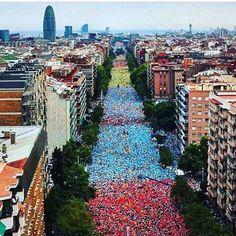11 september in Barcelona / Via Lliure during La Diada 2015
