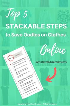 This blogger gives examples of how to never pay full price for anything online. Learn how using the steps all together can save you the most! Use the checklist for a while until they become second nature. Online may become your new favorite way to shop! /