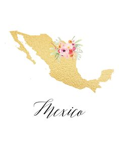 Free printable state art for most states and countries - beautiful gold foil look, and free for personal use! Mexico Wallpaper, Map Wallpaper, Wallpaper Backgrounds, Iphone Wallpaper, Wallpaper Toy Story, Aesthetic Pastel Wallpaper, Aesthetic Wallpapers, Mexico Country, Mexicans Be Like