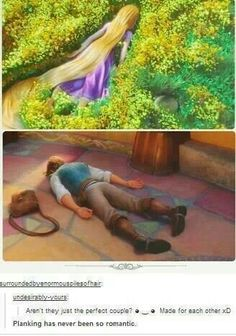 The only time I'll ever agree about planking being romantic!