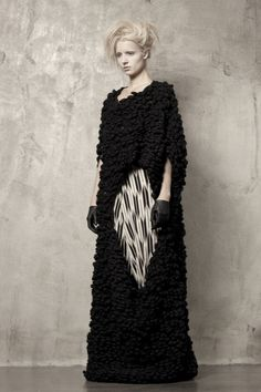UMA WANG-I can't tell if this is a knit, but it's awesome!