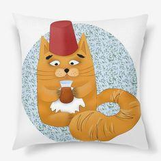 Подушка «стамбульский кот»