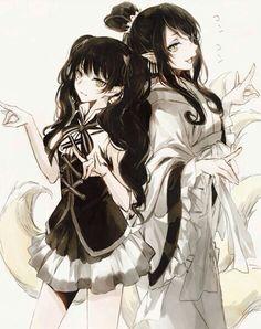 Karauri's sister & Dakki | Hoozuki No Reitetsu #anime