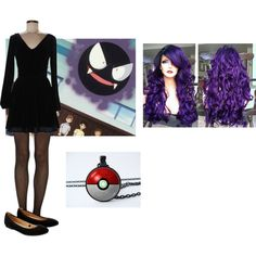 Ghastly cosplay start by katie-lutz on Polyvore featuring Jack Wills, Fogal and Accessorize