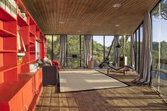 """Built by Schmidt Arquitectos Asociados in Zapallar, Chile with date 2014. Images by Pia Melero. The """"La Palomera""""(pigeon loft) project arose from a number of coincidences starting a few years ago, when, after remo..."""