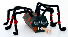 48 spiders for halloween http://hative.com/homemade-animal-toilet-paper-roll-crafts/