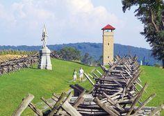 "The ""Bloody Road"", Antietam Battlefield, Sharpsburg, Maryland"
