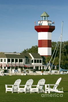 Hilton Head Island Lighthouse, South Carolina, by Dustin K. Ryan