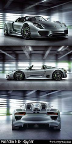 2013 Porsche 918 Spyder. Beautiful! Spectacularly beautiful!