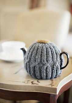 love this sweater tea cozy