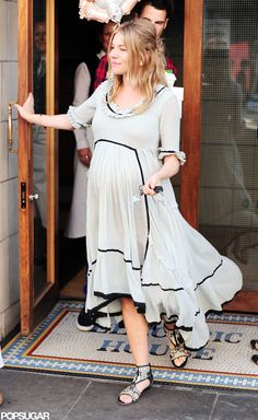 Sienna Miller London Baby Shower