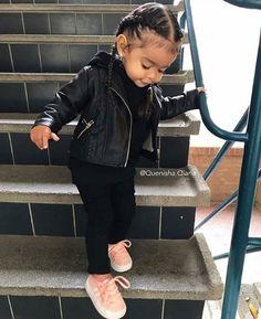 24 Ideas For Baby Outfits Swag Jackets Cute Kids Fashion, Little Girl Fashion, Toddler Fashion, Fashion Children, Boy Fashion, Spring Fashion, Trendy Kids, Stylish Kids, Trendy Baby