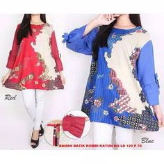 Fashion Wanita/Batik Wanita /Blouse /JUMBO/BIG SIZE XXXL-  SHOPEE97B1