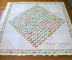 """Pieces of Contentment: Pattern From """"Quilting From Little Things"""" by Sarah Fielke"""