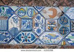 italian renaissance floor tiles.