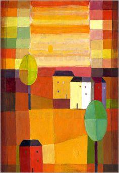 Poster Herbstsonne I
