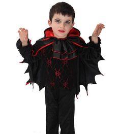 Little Batman Vampire Halloween Children Cosplay Costumes Performance Clothing for Boys