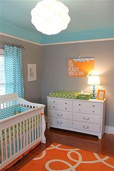 chevron room ideas | 15 amazing, inspiring baby nurseries - Raising Kids - Family-Parenting ...