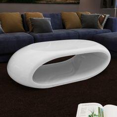 Soffbord design 100x50x28cm vit glasfiber[1/3]