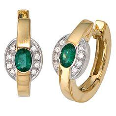 Dreambase Damen-Ohrschmuck Creole 16 Diamant-Brillanten 1... https://www.amazon.de/dp/B0097PEWYO/?m=A37R2BYHN7XPNV