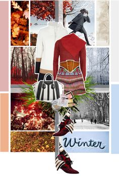 """""""Welcome Winter"""" by hieuanh ❤ liked on Polyvore"""