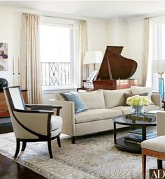 Timeless Hollywood Inspiration for you Home. Recreate Michael J. Fox's stunning living room.