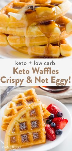 low carb yum A keto waffle recipe like you have never seen before! Crispy, fluffy, not egg tasting and made in under 15 minutes. The best keto waffles for the internet. Keto Waffle, Waffle Recipes, Keto Recipes, Slimfast Recipes, Free Recipes, One Egg Waffle Recipe, Low Calorie Waffle Recipe, Coconut Flour Recipes Keto, Easy Low Carb Recipes